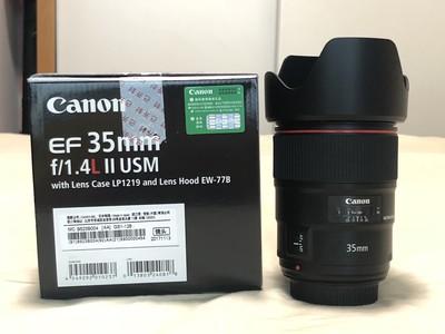 佳能 EF 35mm f/1.4L II USM 国行