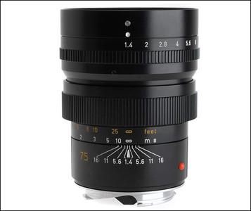 成色极新 98新 徕卡 Leica M 75/1.4 SUMMILUX 第一代!