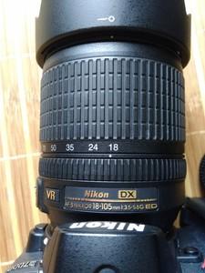 尼康 AF-S DX 尼克尔 18-105mm f/3.5-5.6G ED VR防抖