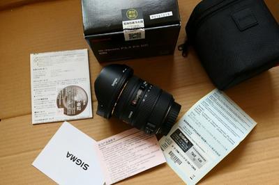 适马 10-20/3.5 EX DC HSM 超广角变焦镜头 恒定光圈 佳能口