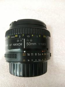 尼康50mm1:1.8D人像镜头小痰盂