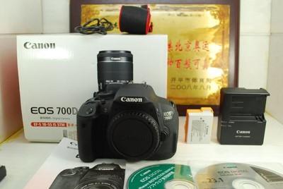伟德亚洲官网_99新 佳能 700D 单反数码相机 1800万像素 触摸翻转屏 入门练手