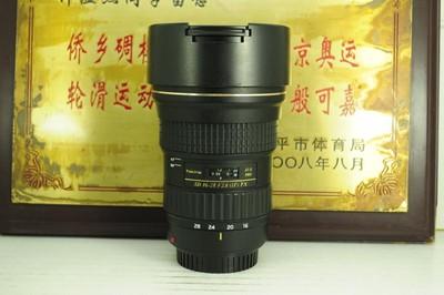 佳能口 图丽 16-28 F2.8 AT-X PRO 超广角 单反镜头 专业牛头