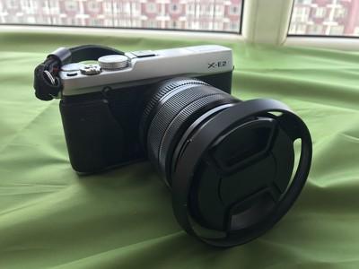 富士 X-E2 /XF18-55mm F2.8-4 (银色)