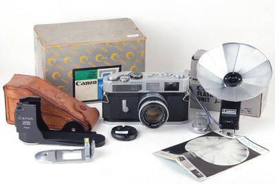 佳能 7 带50/1.8 LTM Leica L39 螺口镜头#jp19805