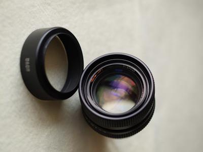 Rollei HFT Planar 50/1.4 已改Leica M口