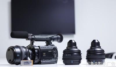 转让专业电影机-索尼 PMW-F3+3镜头