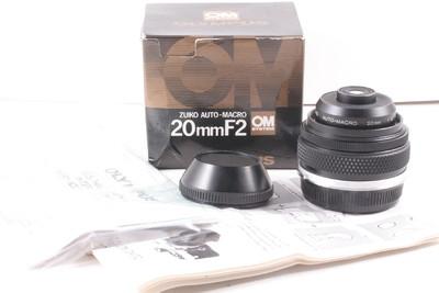 99/奥林巴斯 OM-system Zuiko Auto-Macro 2/20mm 专业微距