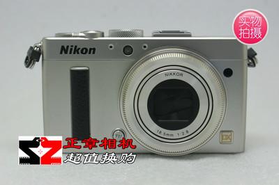 95新 尼康 Coolpix A DX画幅大底数码相机 coolpixA 银色