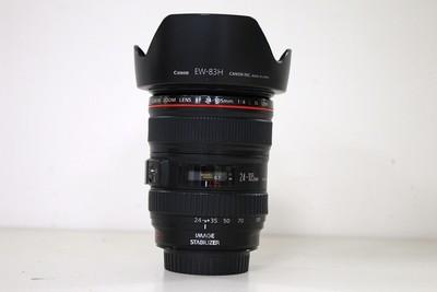 95新二手Canon佳能 24-105/4 L IS USM 防抖镜头(CD00182)成