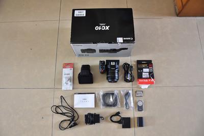 出本人自己使用的佳能摄影机 XC-10 4K 98新 国行