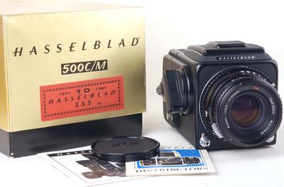 哈苏SSS 10周年 500C/M+80/2.8星版带包装 #jp19913