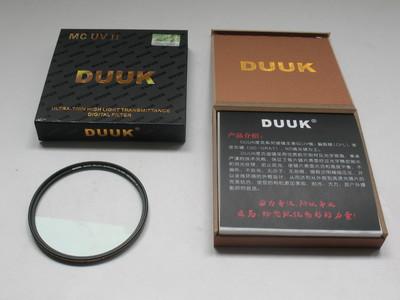 崭新 原装正品 德国度克 DUUK 82mm 超薄 二代 MC UV 金圈