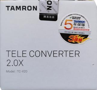 腾龙TC-X20增距镜(2倍,尼康)