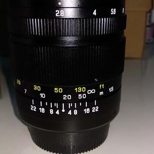 尼康口135mm定焦手动2.8f中一光学