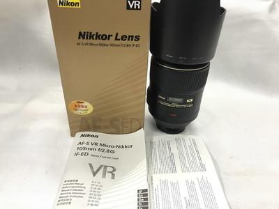 NIKON/尼康 AF-S 105mmf /2.8G VR MICRO 微距镜头日本产原包装