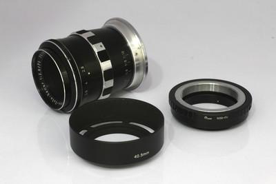 施耐德75/2.8 微距电影镜头(NO:9123)赠送 富士卡口接环
