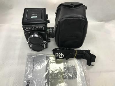 禄来 Rolleiflex 2.8 GX胶片双方相机 带原厂皮套背带说明书