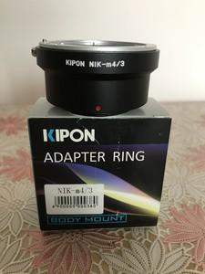 KIPON接环及佳能近摄镜