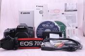 95新 行货带包装 佳能 EOS 70D单反相机 70D单机