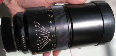 nikon尼康口徕卡Leica LEITZ CANADA TELYT-R 250 F4镜头
