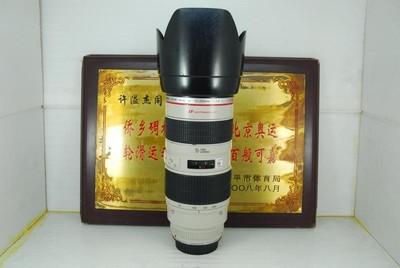 佳能 70-200 F2.8L 小白 单反镜头 专业红圈 恒定大光圈 长焦人像