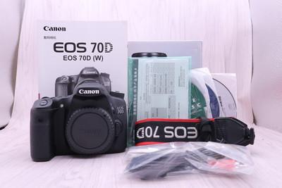 97新 行货带包装 佳能  EOS 70D 单反相机 70D 单机