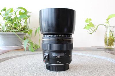 90新二手Canon佳能 85/1.8 EF 定焦镜头(W05418)【武】