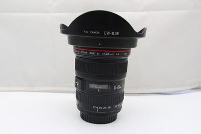 95新二手 Canon佳能 17-40/4 L USM 广角镜头(SZ00671)【亚】
