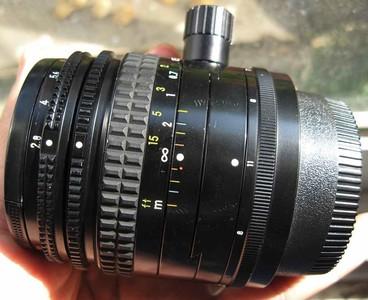 尼康Nikon PC-Nikkor 35 f2.8手动广角移轴镜头接佳能1998