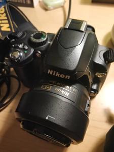 入门级 尼康 D60(双镜头)+变焦18-55 / 定焦35 1.8G大光圈