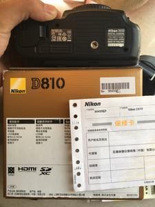 尼康 D810国行正品箱说全 面交优先