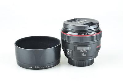 95新 佳能 EF 50mm f/1.2L USM