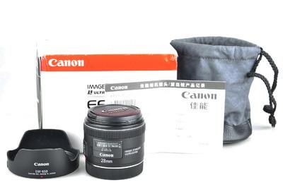 98新 佳能 EF 28mm f/2.8 IS USM