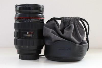 93新二手Canon佳能 24-70/2.8 L USM一代红圈镜头(CD00191)成