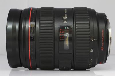 【全画幅标准变焦镜头】佳能 EF 24-70/2.8L USM(NO:0532)*