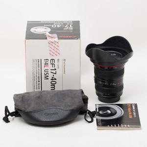 Canon佳能 EF 17-40mm f/4L USM 17-40/4 UX年份 95新行货NO:7552