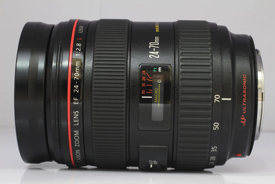 佳能 EF 24-70/2.8L USM 全画幅标准变焦镜头(NO:4960)*