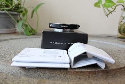 96新二手Fujifilm富士转接环 徕卡M转富士口 (W05408)武 寄售