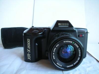 较新理光XR-2000型单反相机带35--70mm镜头,收藏使用