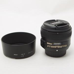 Nikon尼康AF-S NIKKOR 50MM F/1.8G 50/1.8 单反镜头 98新NO:6698