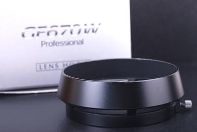 富士 GF670W专用遮光罩 黑色带包装 #jp19931