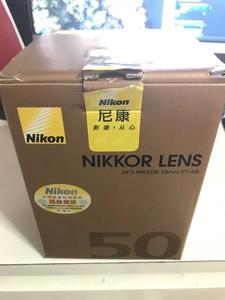 尼康 AF-S 50mm f/1.4 G 个人诚意出,值得信赖