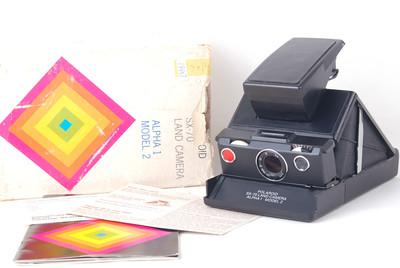 宝丽来SX-70 land camera α1模型2 #jp19657