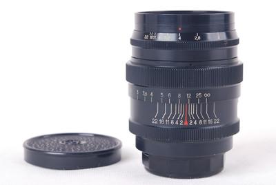 Jupiter-9 85/2 LTM 徕卡L39螺口黑色镜头 #jp19905X