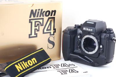 尼康 F4s w/MB-21手柄 包装附件齐全 #jp19867
