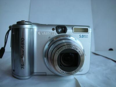 很新佳能A610数码相机,1.8大CCD,收藏使用