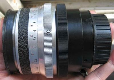 nikon尼康口东德国蔡司Zeiss Jena Biometar 80 F2.8手动镜头