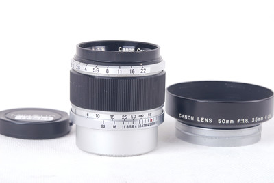 佳能 50/1.8 LTM Leica L39 徕卡螺口#jp19901X