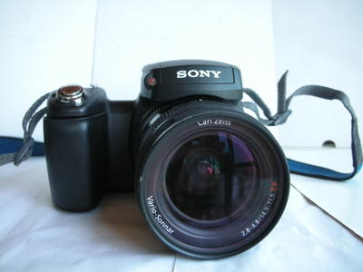 很新索尼 R1经典APS画幅一体式相机,T*松纳镜头,收藏使用上品